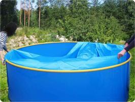Пленка-вкладыш для бассейна диаметром 2,7 м