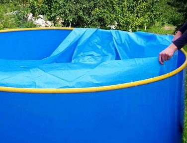 Пленка-вкладыш для бассейна диаметром 4 м