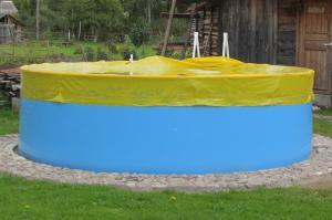 Тент-укрытие для каркасных бассейнов