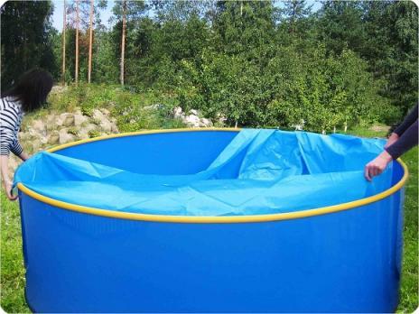 Пленка-вкладыш для бассейна диаметром 3,4 м